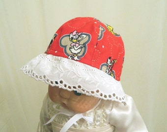 Disney Mickey Mouse and Friends Sun Hat - Infant to Toddler - Preschool