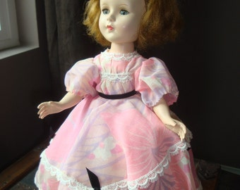 "Lovely vintage composite or plastic doll, 14"", Suzanne or Sweet Sue?"