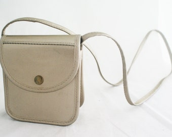 Purse - Small Metallic Mary Kay Silver Gold Over the Shoulder Strap