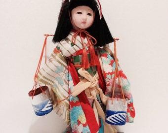 Vintage Japanese Doll in Kimono