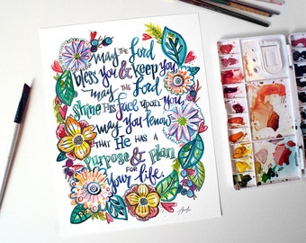 """Blessing """"May the Lord Bless You and Keep You"""""""