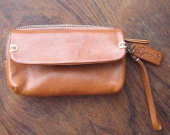 The Cognac Leather Wallet