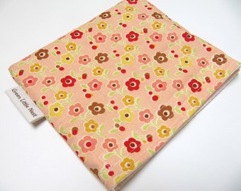 Reusable Snack Bag,  Eco Sandwich Bag, Flowers Snack Bag, Reusable Snack Bag, Floral Flower Snack Bag, Back To School