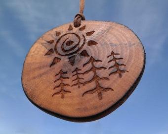 Natural air fresheners - Car air fresheners - Wooden air fresheners - Spirit in the sky