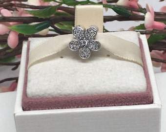 Authentic Pandora Dazzling Daisy CZ charm  BEAUTIFUL