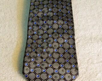 Vintage Authentic Ermenigildo Zegna Silk Tie