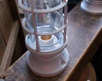 One New Old Stock Explosion Proof Industrial Light Fixture by Appleton