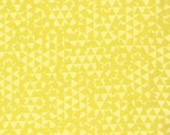 Distrikt by Erin McMorris for Free Spirit - Tilt in Gold - FQ Fat Quarter yard cotton quilt fabric 516