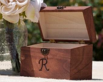 Personalized Rustic Recipe Box -Address Box-Gift Box-Gift for Bride To Be