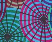 LAST ONES!!  1/2 Yard Kaffe Fassett 100% Cotton Quilt Fabric - Parasols - Blue - PWGP127