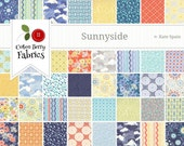 Sunnyside Fat Quarter Bundle by Kate Spain for Moda - One Fat Quarter Bundle - 27160AB