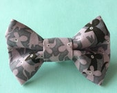Mouse Print Cat Bow tie