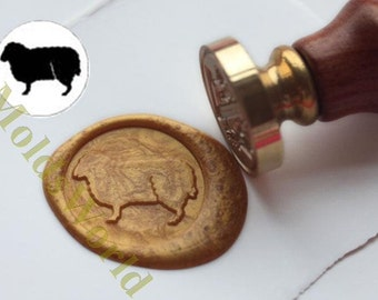 S1270 Sheep Wax Seal Stamp , Sealing wax stamp, wax stamp, sealing stamp