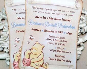 il_340x270.793878440_tpxa winnie the pooh baby shower invitations etsy,Vintage Winnie The Pooh Invitations