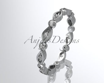 platinum diamond leaf and vine wedding ring,engagement ring
