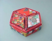 Adorable Set of Asian Boxes in Geometric Shapes-7 Boxes in One