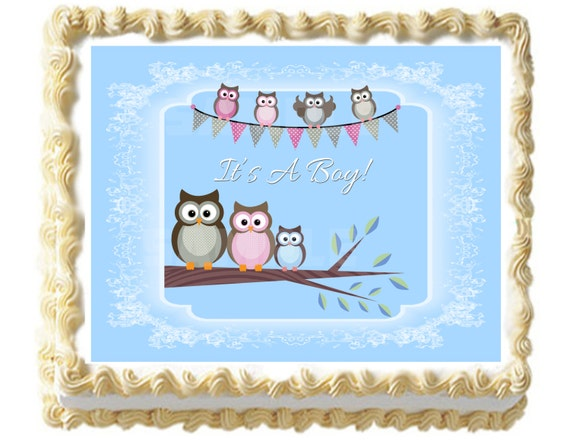 Owl Baby Shower Sheet Cake 2018 Images Pictures Best 25 Owl