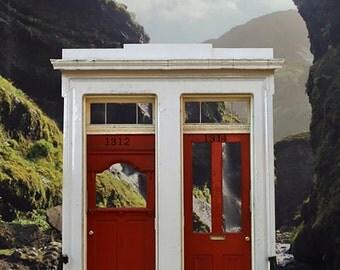 Icelandic Stoop- Photograph