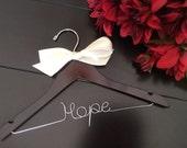 Children hanger, Baby shower gift, Custom Wedding Hanger, Brides Hanger, Baptism gift,Name Hanger, Wedding Hanger, Baptism dress hanger,