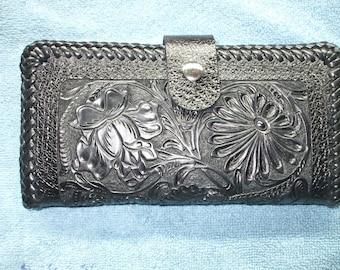 Black western long wallet./ roper wallet. (002) ships same day as ordered.
