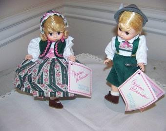 Hansel and Gretl (2) Madame Alexander dolls