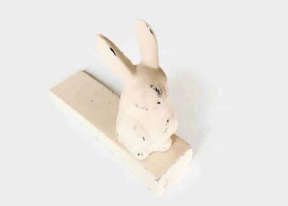 Arr t de porte de lapin lapin cr che decor lapin porte for Decoration porte lapin