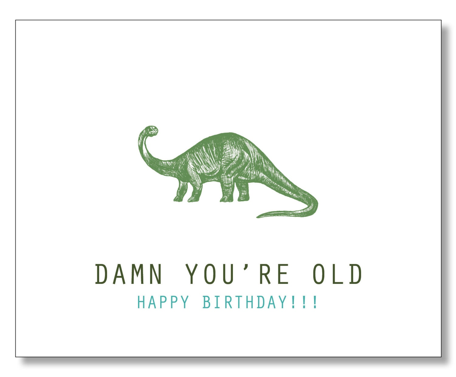 clever birthday card  etsy, Birthday card