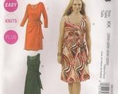 McCall's Sewing Pattern M6363 - Misses' Dresses (18w-24w, 26w-32w)