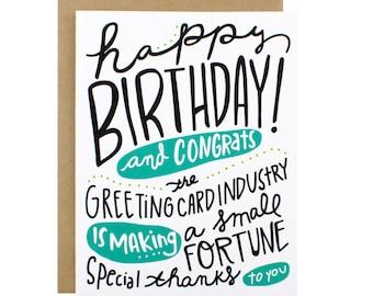 Birthday Card - Happy Birthday Card Industry Making Fortune