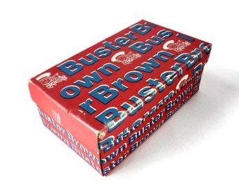 Vintage Buster Brown Shoe Box