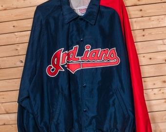 Cleveland INDIANS Baseball Starter Jacket Size XXL