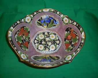 One (1), Console, Porcelain Bowl, From Morimura Bros, Marked; Hand Painted, NIPPON.