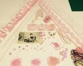 Pink Crazy Quilt (CQ) Embellishment Kit