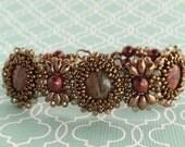 Poppy Jasper Beaded Bracelet