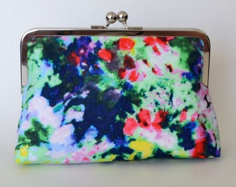 LARGE clutch in Monet Inspiration