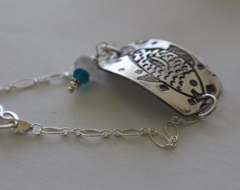Metal Clay jewelry, B, Precious Metal Clay Jewelry, Fine Jewelry, Precious Metal Clay, fine silver, PMC