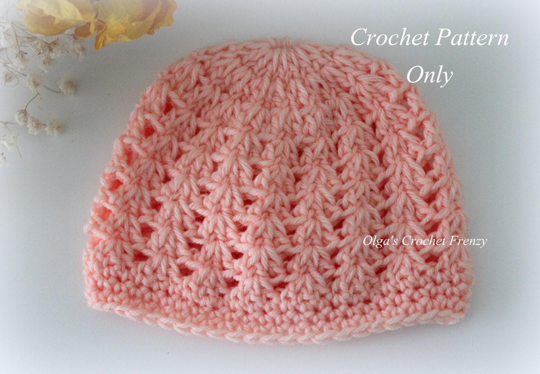 Preemie Crochet Hat Pattern Baby Hat Pattern Instant Pdf