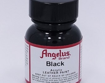 Angelus Flexible Acrylic Leather Paint Black