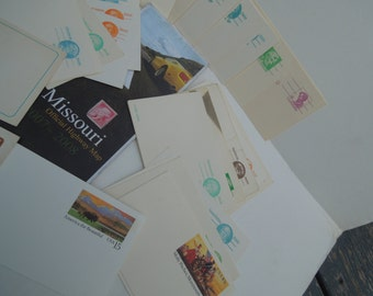Travel postage themed wedding supplies for decoration, decoupage,