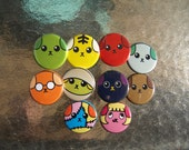 Mameshiba (Bean Dog) Face Buttons (ONE ONLY)