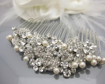 Wedding Hair Accessories Wedding Decorative Combs Wedding Hair Jewelry bridal hair accessories bridal hair comb vintage Wedding comb pearl