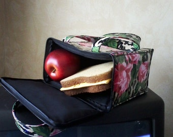 Insulated Vinyl Lunch Bag