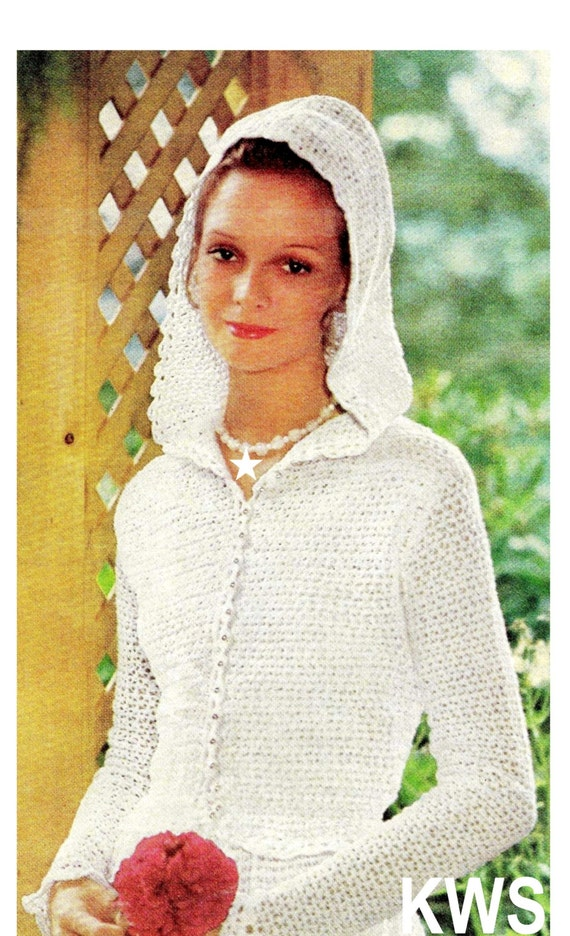 Crochet pattern crochet wedding dress pattern jacket for Wedding dress patterns free download