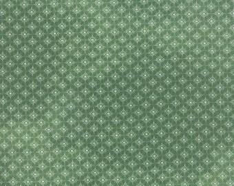 Let it Snow in Dark Green - Evergreen by Basic Grey for Moda