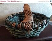 Sturdy gathering basket