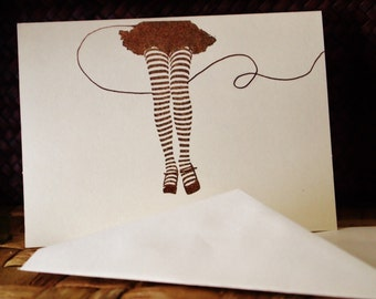 Legs Note Cards