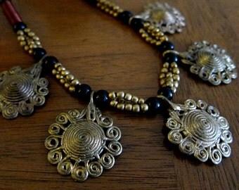 Dokra 5 Pendant Necklace -- Sale