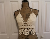 Crocheted Halter Top