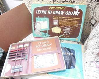 Jon Gnagy Learn to Draw Outfit, Drawing, Art, Learning, Home Schooling,  :)S