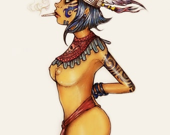 The Aztec Goddess of Death